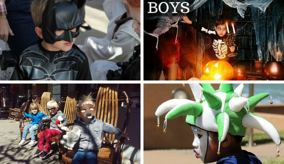 Boys High End Halloween Costumes