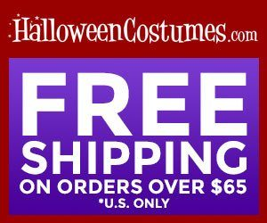 free shipping on halloween costumes