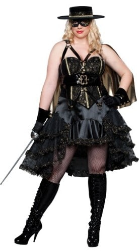 high end halloween costumes plus size