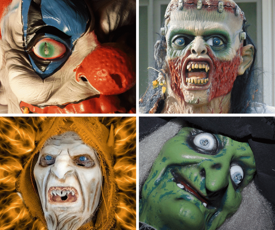 high end halloween masks